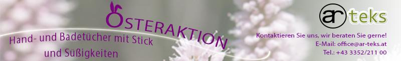 AR-TEKS Osteraktion Headerbild